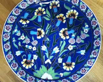 Decorative Plate, handmade in Turkey