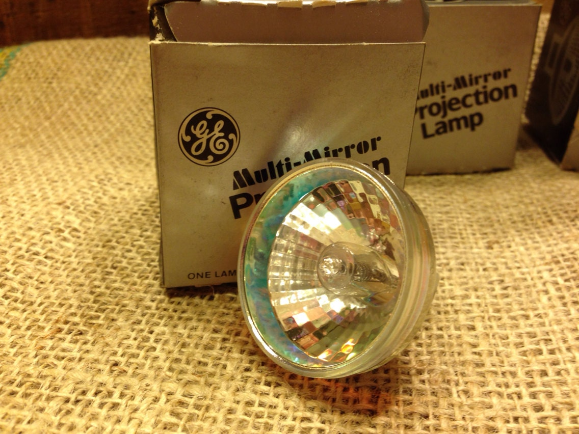 Vintage ge multi mirror projection lamp fhs 82v 300w slide for Mirror projector review
