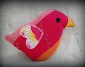 Wrap Scrap Love Bird BBSlen Papaya