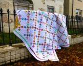PDF Pattern: Irish Chain Quilt (4 sizes included) Level - Beginner