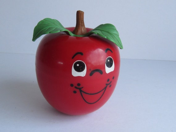 Fisher Price Happy Apple Roly-Poly Chime Toy by ElementreeStudio