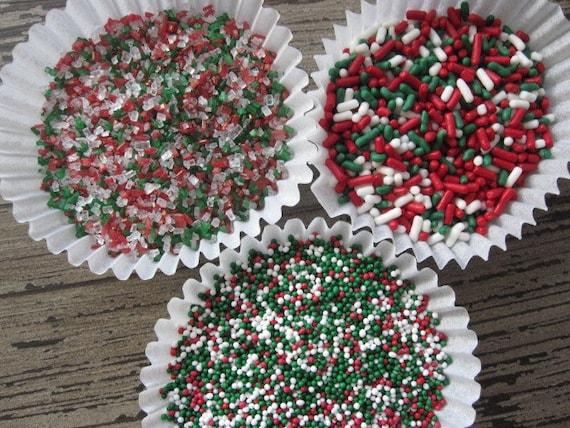 4oz Red Green White Clasic Sprinkles