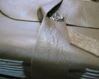 On Sale Now - Sandy Beige Leather Journal/Sketchbook