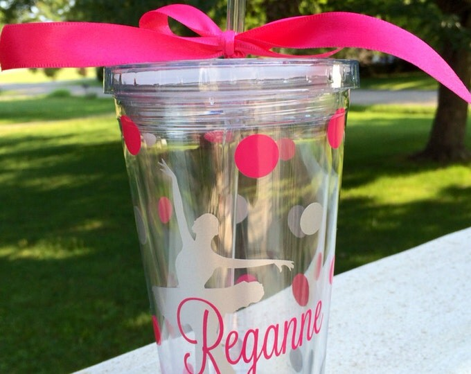 Ballet Dancer Tumbler Personalized Dance Cup Ballet Cup Dance Cup Dance Tumbler Personalized Gift Accessory Dance Team Everything Else
