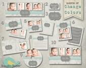 Photography Marketing Set - Marketing Damask Dots