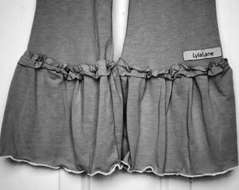 Plus Size Women's Ruffle Pants