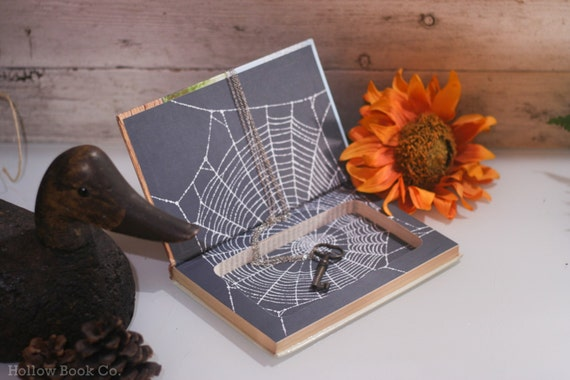 Hollow Book Safe - Charlottes Web