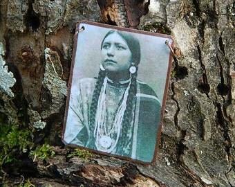 Native American inspired jewelry  mixed media jewelry