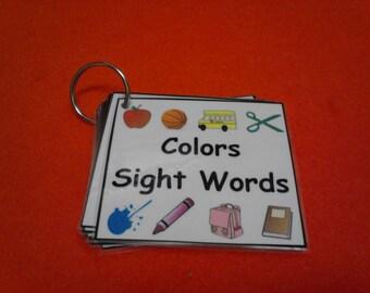 Colors Flash Cards, Colors, Color Cards, Flash Cards, Preschool Learning, Toddler Learning, Educational Toys, Montessori, Preschool Teacher
