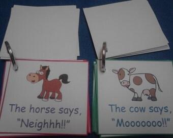 Animal Sounds Flash Cards, Animal Sounds for Kids, Animal Flash Cards, Preschool Teacher, Montessori, Toddler, Learning, Animal Cards