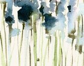 Flower Artwork Lavender Field