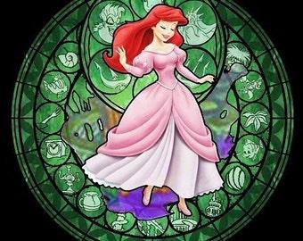 Cross Stitch Pattern for Ariel The Little Mermaid Kingdom Hearts Princess