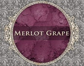 MERLOT GRAPE Matte Eyeshadow: 3g or 5g Sifter Jar, Deep Purple Pink, Cosmetic Pigment, Ships Out in 6-9 Days