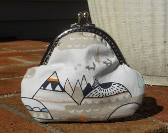 Snap Coin Purse, Woodland Oak, One of a Kind