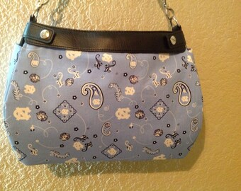 UNC University of North Carolina suite purse skirt cover handmade thirty one