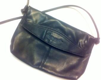 Retro Navy Blue purse handbag