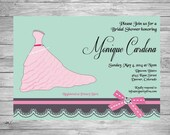 Bridal Shower or Engagement Announcement or Invitation