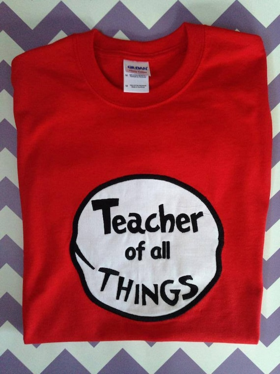 applique t shirts for teachers