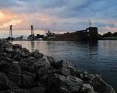 Port Colborne Photography, Welland Canal Photos, Clarence St Bridge, Canal Days Photos, West St Port Colborne, Nautical Decor, Industrial
