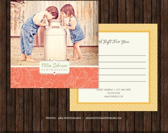5x5 Photography Gift Certificate, Gift Card - MK7A