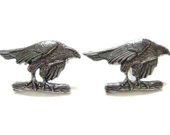 Hawk Bird Cufflinks