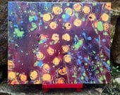 "Original abstract painting ""Fireflies"""