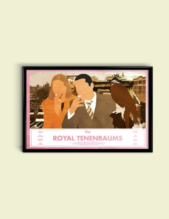 The Royal Tenenbaums 17 x 11 Minimalist Movie Poster