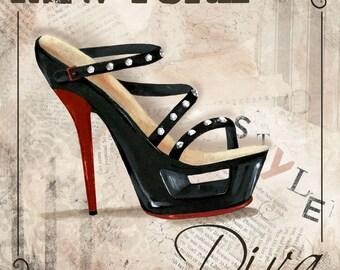 International Style Diva Plaques