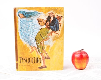 iPad Case / Book Tablet Cover Case Sleeve- (iPad / iPad Air / Kindle Fire 8.9 / Nexus 10 / Samsung 10.1 / Hardcover / Book)- Pinocchio