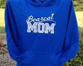 Personalized Sport Team Mom Sweatshirt  Appliqué Embroidered - Teen Adult sizes - Custom Colors and Teams