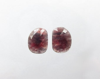 Natural Blue Pink Red Sapphire, Lot (2) of 20.28 carats