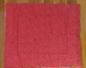 100% Charity Item- Red and White Cat Mat