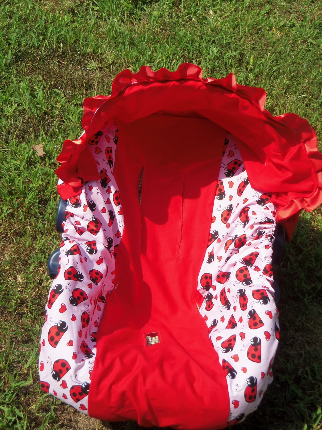 Ladybug Baby Car Seat Cover Infant Seat Cover Slip Cover Graco