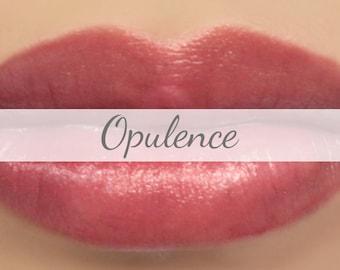 "Mineral Lipstick Sample - ""Opulence"" (semi-sheer natural berry pink color, vegan) lip tint, balm, lip colour, natural lipstick"