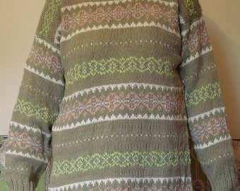 Long Cotton Sweater
