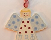 Pi Beta Phi Angel Ornament.