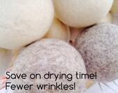 3 Wool Dryer Balls