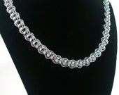 Crow Chain Chainmaille Necklace