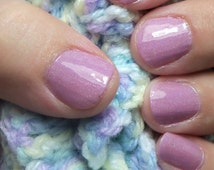 Little Bo Peep (Holo):  NURSERY RHYME COLLECTION, Nail Polish, Polish, Lacquer, Rose, Dusty Rose, Spectraflair, Holo, Girly, Baby, Nails