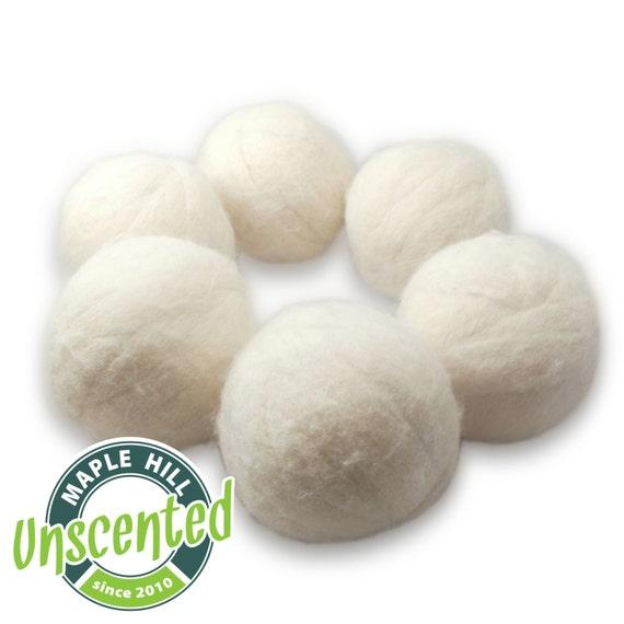 6 Unscented Dryer Balls