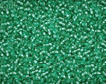15/0 TOHO seed beads 10g Toho beads 15/0 seed beads Teal 15-24B last