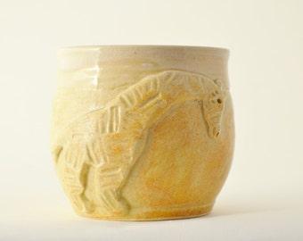 IN STOCK, Child Giraffe Mug, Tan Kid Cup, Child Animal Mug, Hot Cocoa Mug, Kid Christmas Gift