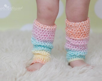 PATTERN:  Toddler & Baby Leg Warmers, 4 sizes, Slouchy, Easy Crochet PDF, Baby Girl sizes NB-24m, InStAnT DowNLoaD, Permission to Sell