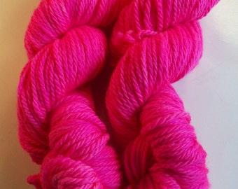 SALE Perky Pink on Bulky SW Merino