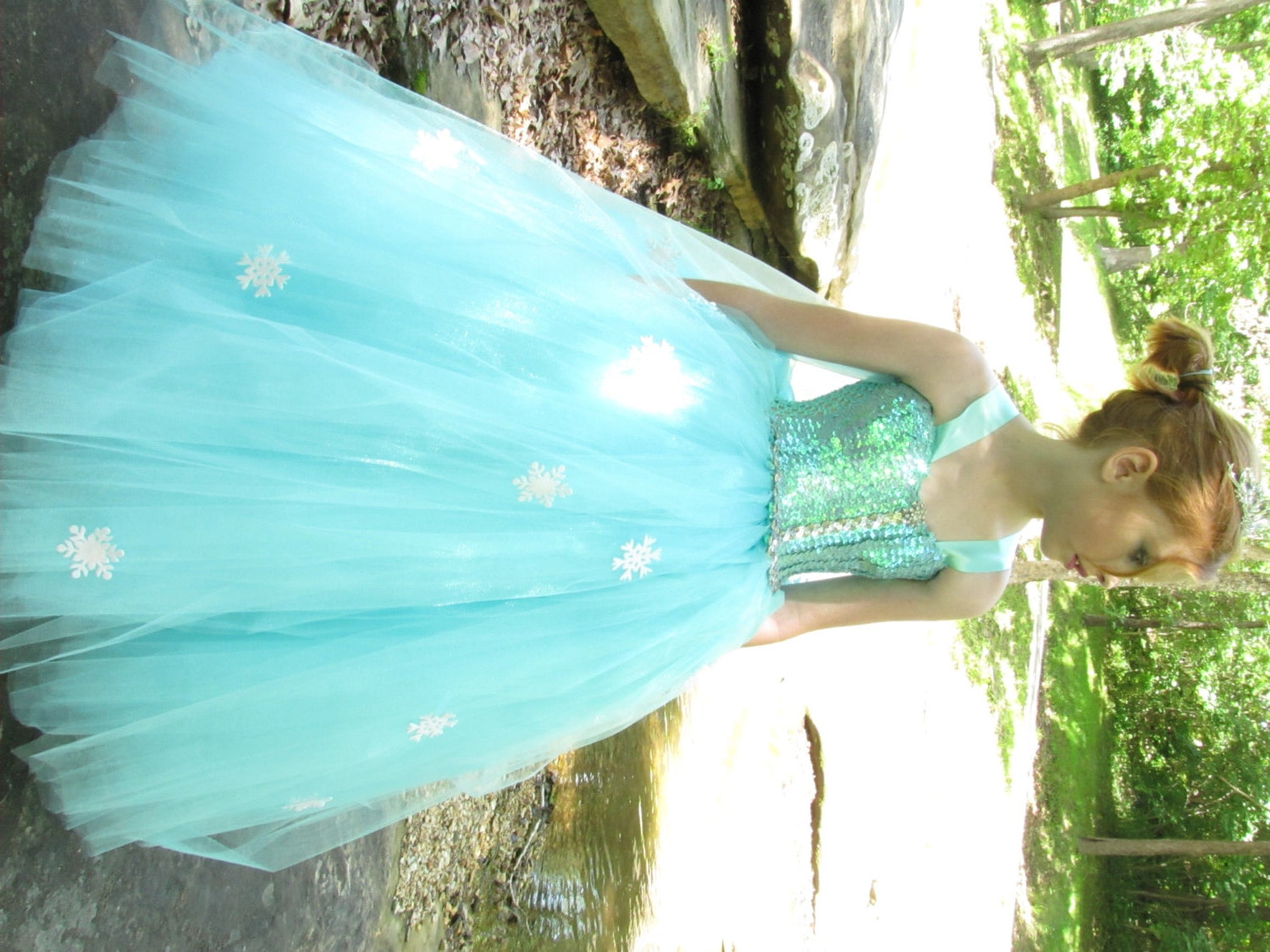 Elsa costume Frozen costume Frozen dress Elsa dress Snow
