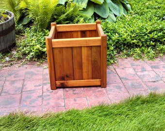 "15"" square Cedar Planter Box"
