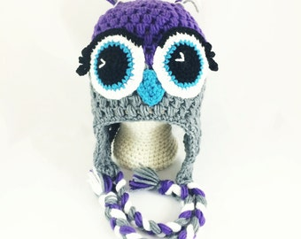 Toddler/Child Size - My favorite Owl hat