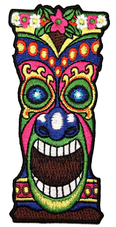Tiki Head Clip Art Tiki head clip art tiki face Hawaiian Clip Art ...