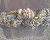 HandspunYarn: Sea Sand and Sparkle (art yarn)