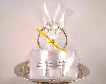 MOISTURIZER & PERFUME OILS (Set of 2 Minis) - Lavender Chamomile / Rose Patchouli - All Natural Nourishing / Shower Favors